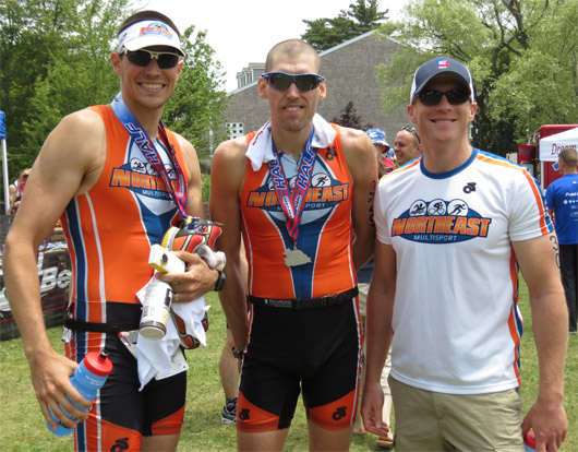 Colin Cook, Richard Hostler, Brent Osborn