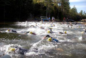 swim start action