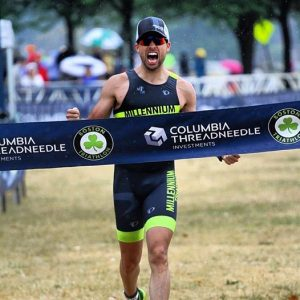 Lucas Pozetta wins Boston Tri 2016!